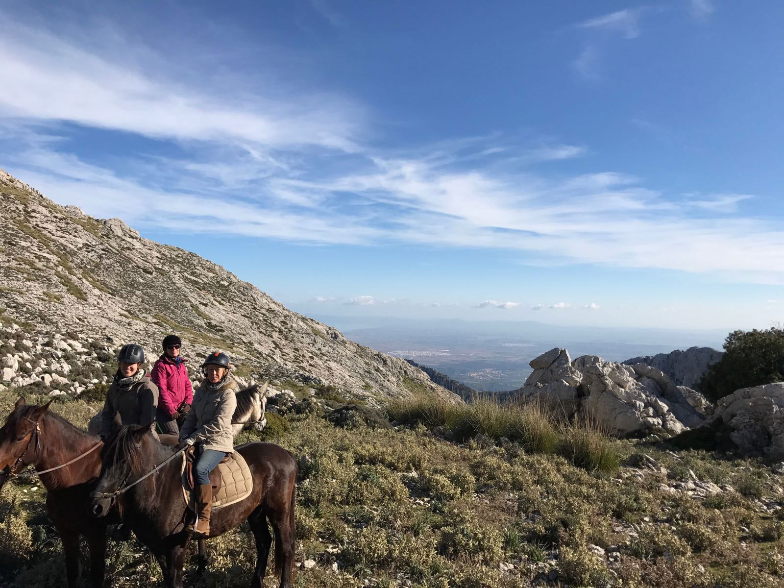 Our fantastic trail riding holidays in the Tramuntana Mountains are back